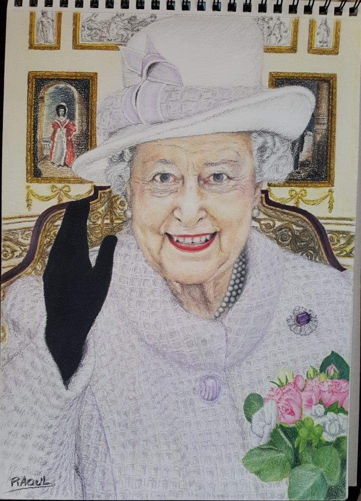 Elizabeth II by Raoul.G